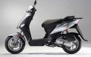 Мотоцикл Agility City 50 (2009): технические характеристики, фото, видео