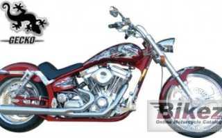 Мотоцикл Gecko Rubber Mount Stretch 2008: технические характеристики, фото, видео