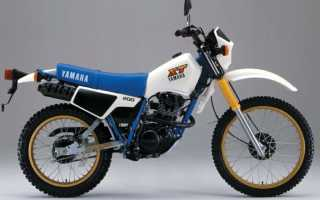 Мотоцикл XT250 (1985): технические характеристики, фото, видео