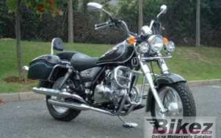 Мотоцикл JL 125-11 (2007): технические характеристики, фото, видео
