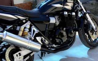 Мотоцикл XJR 400 1996: технические характеристики, фото, видео