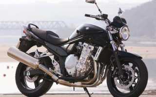 Мотоцикл GSF650A Bandit: технические характеристики, фото, видео