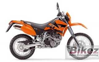 Мотоцикл 640LC4 Enduro (2007): технические характеристики, фото, видео