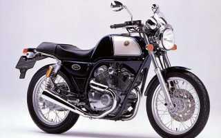 Мотоцикл SRV250S (1993): технические характеристики, фото, видео