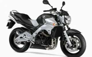 Мотоцикл GSR600A: технические характеристики, фото, видео