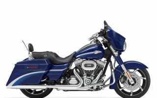 Мотоцикл FLHXSE CVO Street Glide (2010): технические характеристики, фото, видео
