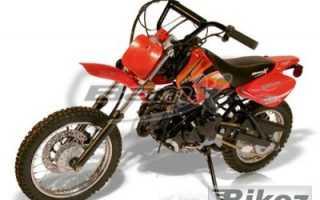 Мотоцикл BX70-DB Trailstar (2009): технические характеристики, фото, видео