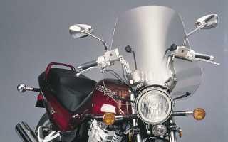 Как выбрать ветровые стекла для мотоциклов