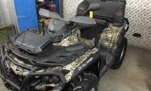 Мотоцикл Outlander 650 EFI XT (2010): технические характеристики, фото, видео
