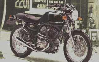 Мотоцикл SRV250 (1983): технические характеристики, фото, видео