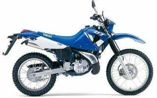 Мотоцикл DT230 (1999): технические характеристики, фото, видео