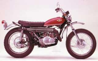 Мотоцикл TS250 (1969): технические характеристики, фото, видео