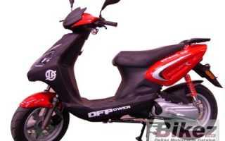 Мотоцикл Crane 50 (2007): технические характеристики, фото, видео