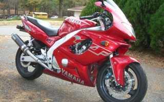 Мотоцикл YZF 600 R: технические характеристики, фото, видео