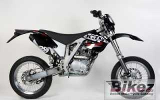 Мотоцикл PR4 200 SM (2010): технические характеристики, фото, видео