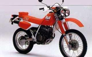 Мотоцикл XLR250R Baja (1987): технические характеристики, фото, видео
