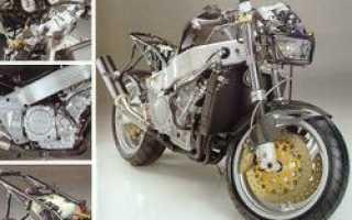 Мотоцикл YB11 Superleggera (1996): технические характеристики, фото, видео