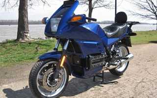 Мотоцикл K100RS (1983): технические характеристики, фото, видео