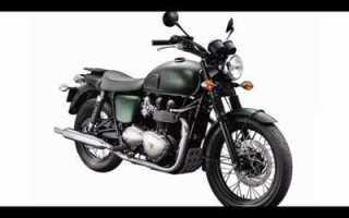 Мотоцикл Bonneville T100 (2007): технические характеристики, фото, видео