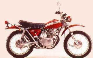 Мотоцикл CB175 (1970): технические характеристики, фото, видео