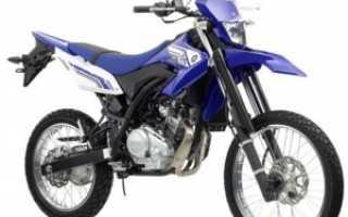 Мотоцикл WR 125 (2010): технические характеристики, фото, видео