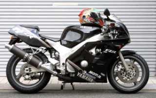 Мотоцикл FZR400R SP EXUP 2TK (1987): технические характеристики, фото, видео