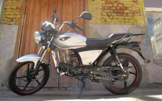 Мотоцикл SK 110 (2013): технические характеристики, фото, видео