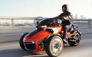 Мотоцикл Spyder Roadster SE5 (2009): технические характеристики, фото, видео