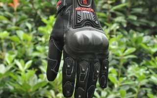 Какие лучше выбрать перчатки для мотоцикла?