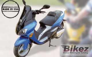Мотоцикл Elektroroller EM 6000 Maxi-Lithium (2010): технические характеристики, фото, видео