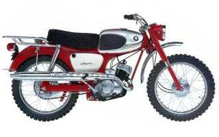 Мотоцикл K15 Hill-Billy/Trail 80 (1965): технические характеристики, фото, видео