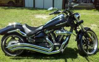 Мотоцикл XV1900 Raider S (2012): технические характеристики, фото, видео