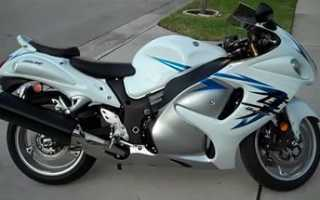 Мотоцикл GSX1300R Hayabusa (2003): технические характеристики, фото, видео