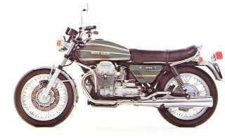 Мотоцикл 850T (1973): технические характеристики, фото, видео