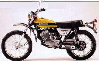 Мотоцикл TS185J Sierra (1972): технические характеристики, фото, видео