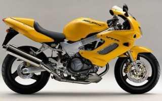 Мотоцикл VTR1000F (1997): технические характеристики, фото, видео