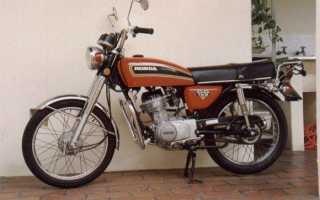 Мотоцикл CG125 (1977): технические характеристики, фото, видео