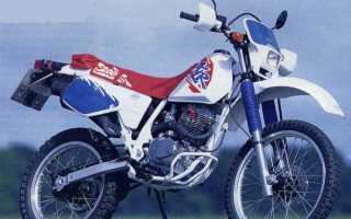 Мотоцикл XLR200R (1996): технические характеристики, фото, видео