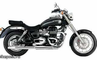 Мотоцикл Bonneville America (2008): технические характеристики, фото, видео
