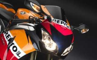 Мотоцикл CBR1000RR Fireblade ABS (2009): технические характеристики, фото, видео