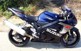 Мотоцикл GSX-R750T (1996): технические характеристики, фото, видео