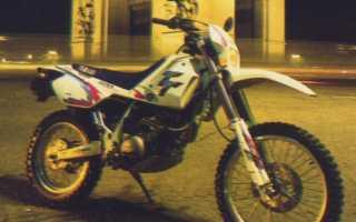 Мотоцикл TT600S (1991): технические характеристики, фото, видео