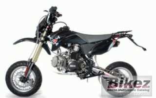 Мотоцикл LXM 155R Twelve Motard (2012): технические характеристики, фото, видео