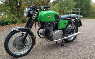 Мотоцикл 750GT America Eagle (1968): технические характеристики, фото, видео