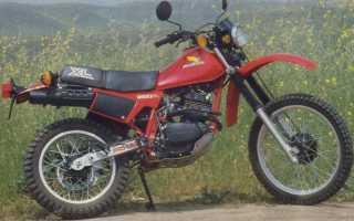 Мотоцикл XL250R (1982): технические характеристики, фото, видео
