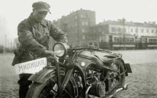 Какие мотоциклы выбирают полицейские