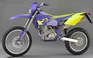 Мотоцикл FE 400 (1997): технические характеристики, фото, видео