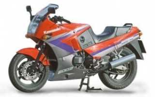 Мотоцикл GPZ 600 R 1990: технические характеристики, фото, видео