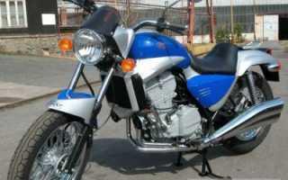 Мотоцикл 650 Bizon (2005): технические характеристики, фото, видео