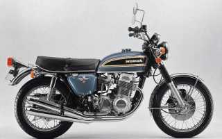 Мотоцикл CB750 Four K4 (1974): технические характеристики, фото, видео